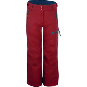 TROLLKIDS Hallingdal Pants Kids, rusty red/mystic blue